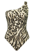 Load image into Gallery viewer, Amoressa OCELOT Sierra Leone Gemini One Shoulder One-Piece Swimsuit, US 8