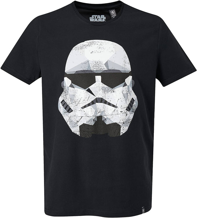 Musterbrand BLACK GoZOO Star Wars Imperial Stormtrooper T-Shirt, US 2X-Large