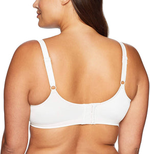 Bali WHITE Double Support Soft Touch with Cool Comfort Bra, US 34C, UK 34C