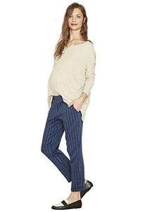 Hatch VOYAGE STRIPE Maternity The Relaxed Trouser, Size 3