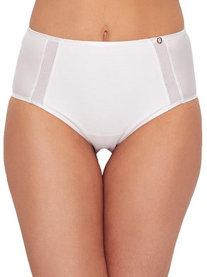 Chantelle WHITE C Magnifique Sexy High-Waist Brief Panty, US Large