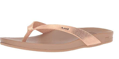 Reef Women's Rose Gold Cushion Court Sandal, 9
