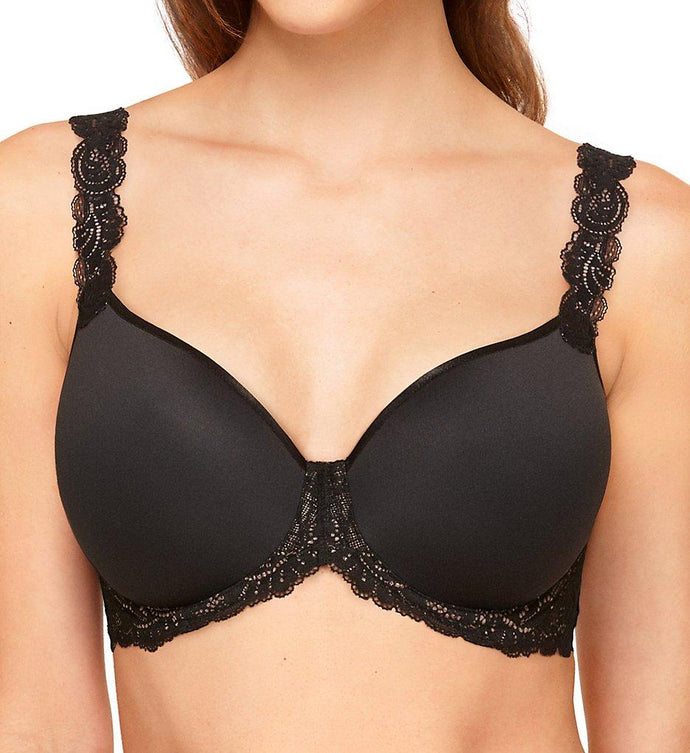 Wacoal BLACK Vivid Encounter Contour Bra, US 38G - racks-op