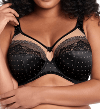 Load image into Gallery viewer, Goddess BLACK Plus Size Bridget Full Coverage Underwire Bra, US 34I, UK 34G