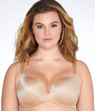 Load image into Gallery viewer, Curvy Couture BOMBSHELL NUDE Tulip Lace Bra, US 44H, UK 44FF - racks-op