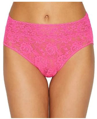Hanky Panky Plus Size French Brief 461X, Size 3X, Bright Pink