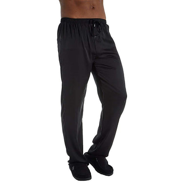 Hartman BLACK Essentials Classic Sueded Charmeuse Lounge Pant, US Large