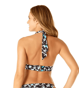 Anne Cole BEAUTIFUL BUNCHES Halter Bikini Swim Top, US Medium