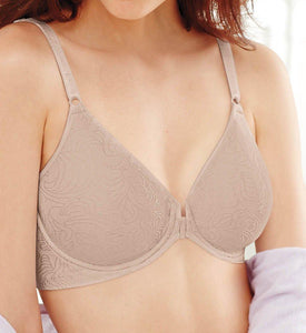 Bali NUDE Comfort Revolution Front-Close T-Shirt Bra, US 40D - racks-op