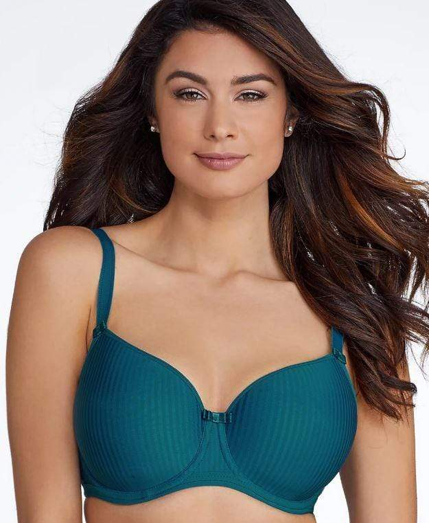 FREYA IDOL BALCONY T-SHIRT BRA, TEAL, 32H - racks-op