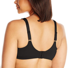 Load image into Gallery viewer, Lilyette BLACK TONAL by Bali Endless Smooth Minimizer Bra, US 40C - racks-op