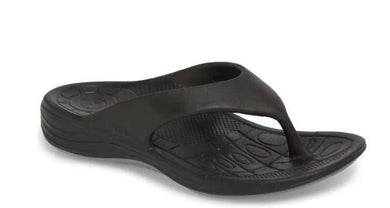 Aetrex Women's Black Lynco Flips, US 10, EU 41