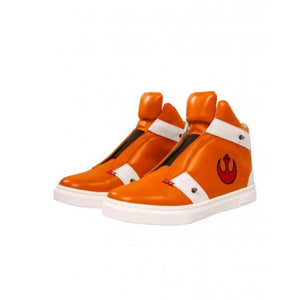 Musterbrand Men's Orange Skywalker X-Wing Sneaker, US 12, UK 11