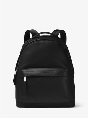 Michael Kors Dark Brown Odin Leather Backpack