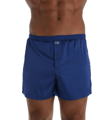 Hartman REGAL NAVY Essentials Classic Sueded Charmeuse Boxer, US X-Large