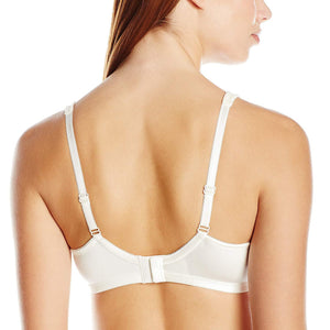 Amoena OFF WHITE Ina Lace Soft Cup Bra, US 48DDD - racks-op