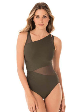 MIRACLESUIT OLIVETTA ILLUSIONISTS AZURA UNDERWIRE ONE-PIECE, US 8