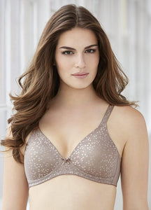 GLAMORISE Taupe The Perfect A Full Figure Soft Cup Bra, US 58A, UK 58A, NWOT