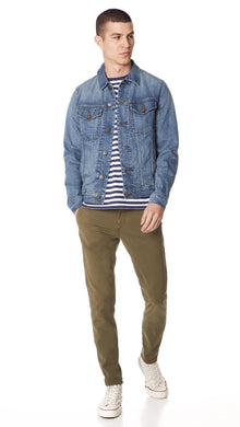 J Brand NAVY Denim Noah Jacket, US X-Large
