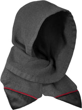 Load image into Gallery viewer, Musterbrand GREY Assassin's Creed Solomon's Mantle Hooded Scarf, US One Size