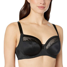 Load image into Gallery viewer, FANTASIE Black Illusion Side Support Full Coverage Bra, US 42G, UK 42F, NWOT