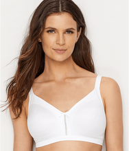 Load image into Gallery viewer, Bali WHITE Double Support Soft Touch with Cool Comfort Bra, US 34C, UK 34C