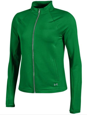 Under Armour Women's Full Zip Gear Jacket, Forest, US S