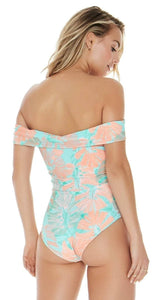 L*Space BUNGALOW PALM Anja One Piece Swimsuit, US 12
