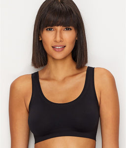 Hanro BLACK Touch Feeling Bralette, US Medium - racks-op