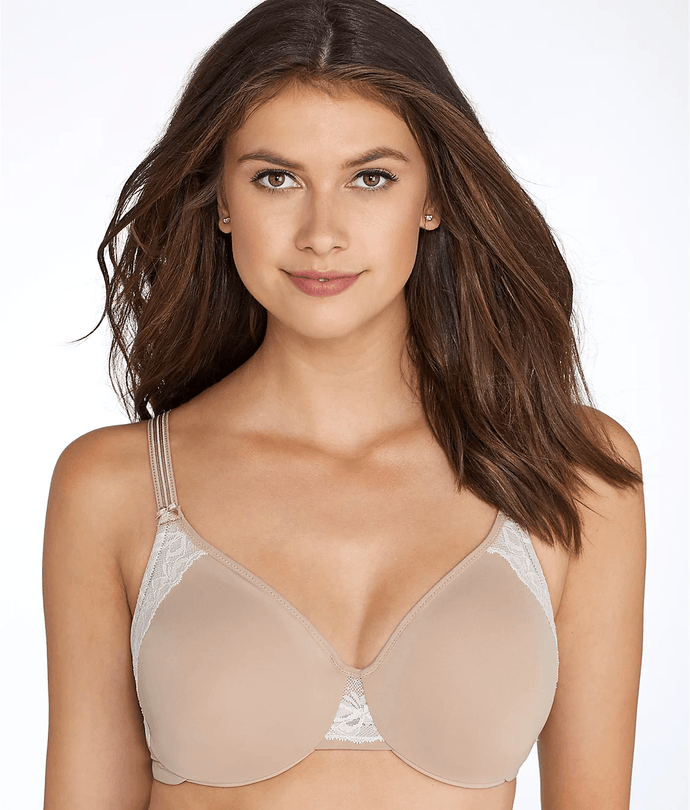 Olga TOASTED ALMOND Cloud 9 Minimizer Bra, US 38DD - racks-op