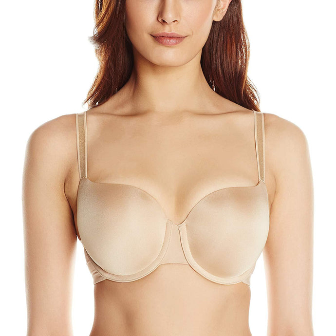 Panache NUDE Porcelain Elan Molded T-Shirt Bra, UK 38H - racks-op