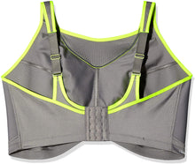 Load image into Gallery viewer, GLAMORISE Grey No Bounce Cami Sports Bra, US 34H, UK 34FF, NWOT