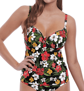 Freya MULTI Tiki Bar Underwire Tankini Swim Top, US 38D, UK 38D - racks-op