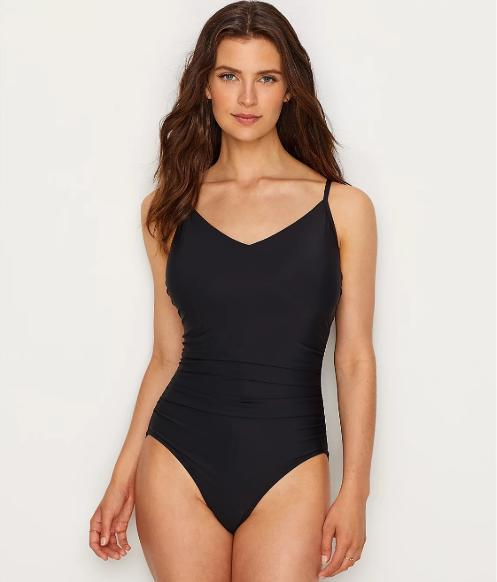 Magicsuit Black Mikki One-Piece Swim Suit, Size US 8 - racks-op