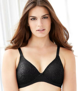 "Glamorise Black The Perfect ""A"" Wire-Free T-Shirt Bra, US 46A NWOT - racks-op"
