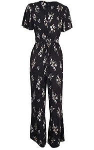 MinkPink Women's Black Follow Me Jumpsuit, Small