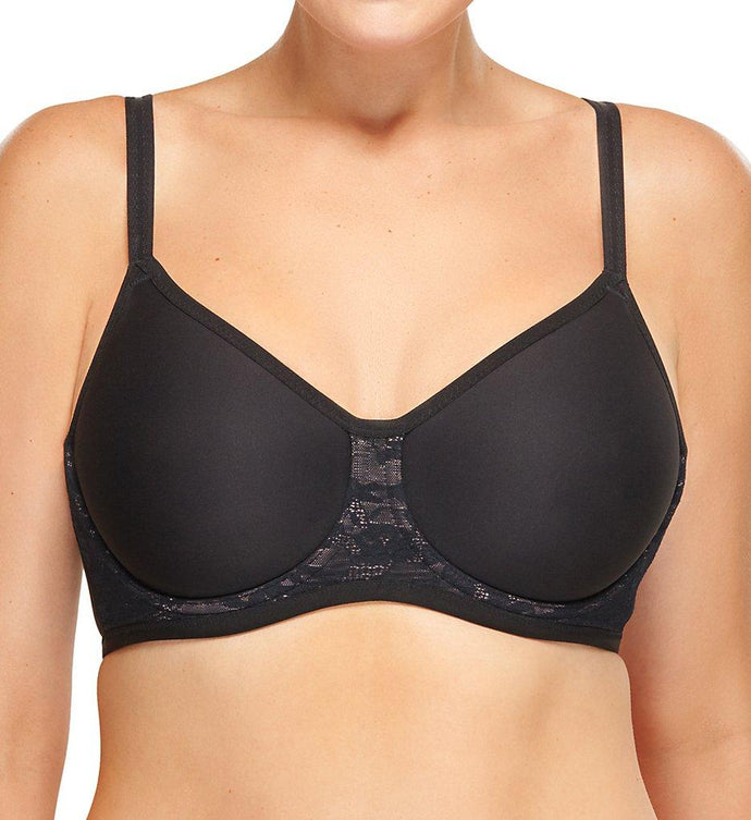 Wacoal BLACK Final Touch Bra, US 32DDD - racks-op