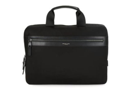 Michael Kors Black Kent Large Nylon Messenger Bag