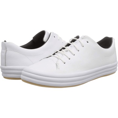 Camper WHITE Hoops Low-Top Sneakers, 5US, 35EU