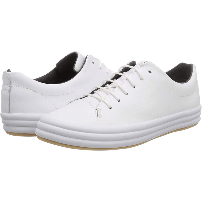 Camper WHITE Hoops Low-Top Sneakers, 5.5US, 36EU