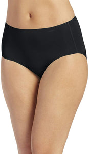 Jockey BLACK No Panty Line Promise Tactel Hip Brief Panty, US 9