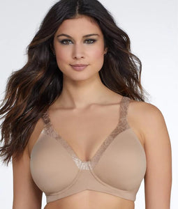 LEADING LADY NUDE LUXE BODY BACKSMOOTH WIRE-FREE T-SHIRT BRA, SIZE US 48B, NWOT - racks-op