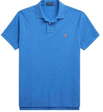 Load image into Gallery viewer, Polo Ralph Lauren Shirt Men's Blue Big and Tall Polo Shirt, 2XB