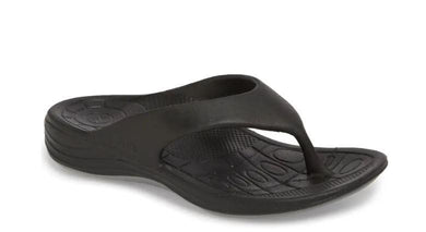 Aetrex Women's Black Lynco Flip Sandal, US 11, EU 42
