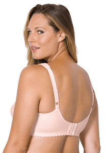 Glamorise PALE PINK Magic Lift Cotton Full Figure Support Bra, US 48DD, UK 48DD