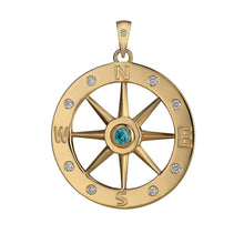 Load image into Gallery viewer, Compass Pendant