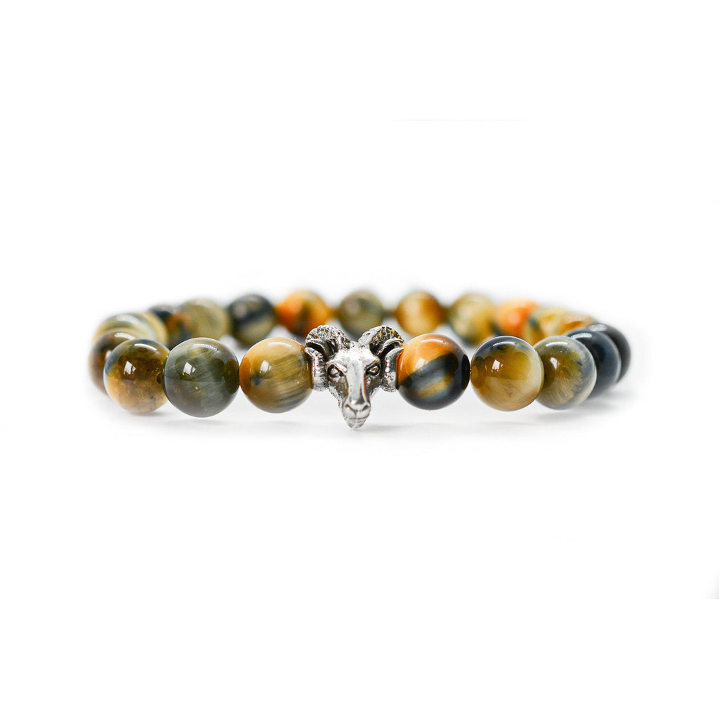 Mixed Tiger Eye Beaded Bracelet