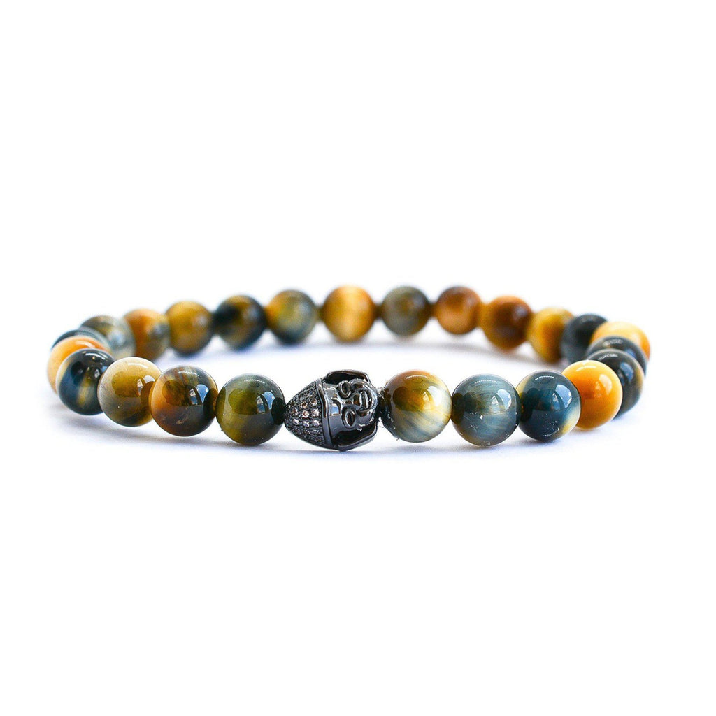 Tiger Eye Mixed Beaded Bracelet