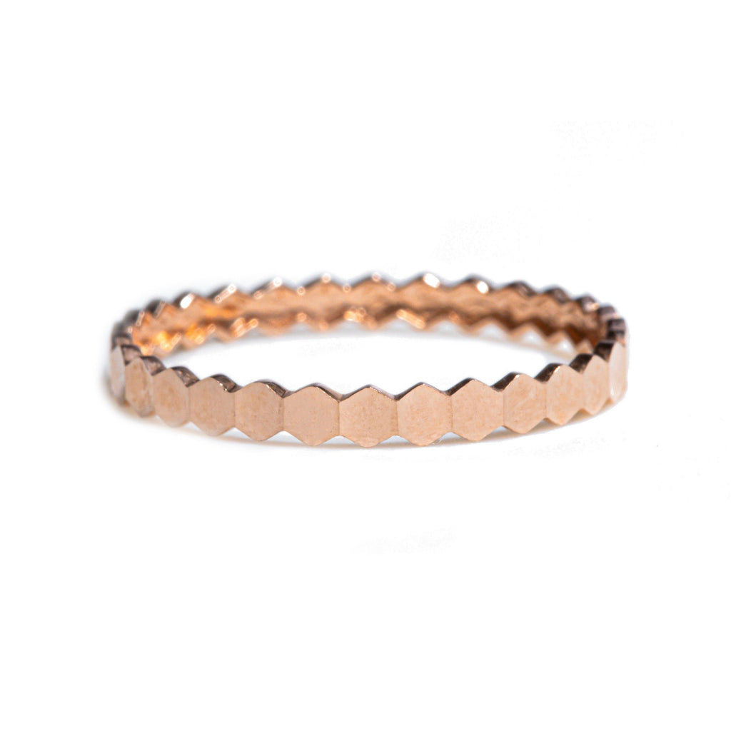 Stackable Yellow Gold Band