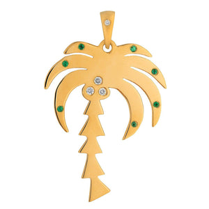 Palm Tree Paradise Pendant